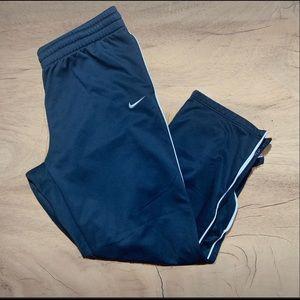 Vintage Nike blue & white xxl basketball pants